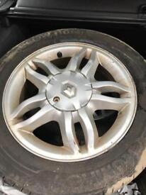 "Renault Clio Alloy Wheels Mahonia 15"""