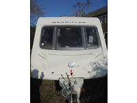 2009 Swift Challenger 4 Berth Touring Caravan With Fixed Double Bed