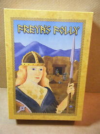 (FREYA'S FOLLY) board game. By Sagacity games 2005. New & Sealed.