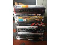 14 PC CD rom games, various titles