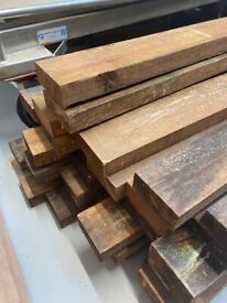 10 x Timber fence DIY wooden rails 1.8 metre 100 x 38 mm