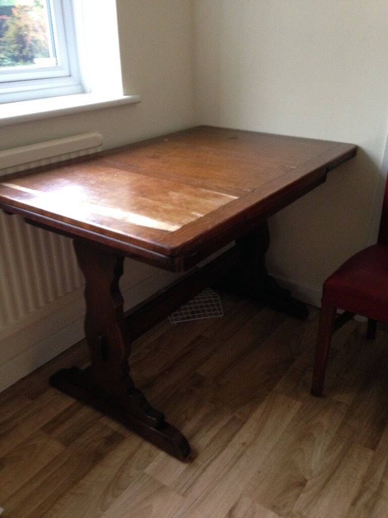 Vintage Extendable Dining Table Antique Extendable Dining Table In Taunton Somerset Gumtree