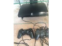Boxed Sony PS3 Console - 320 GB SLIM - Mint Condition, 2 controllers + 5M Lead + 6 Top Games