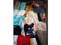 Girls Clothes Bundle Age 7-8 Eccles