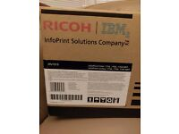NEW RICOH IBM 39V1919 InfoPrint High-Yield Toner, 10000 Page-Yield, Black