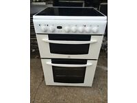 £129.00 indesit new model ceramic electric cooke+60cm+3 months warranty for £129.00