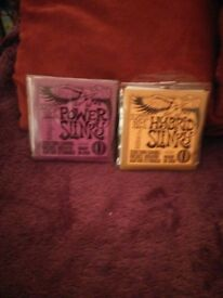Guitar Strings Ernie Ball Slinky's new packets