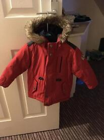 Boys 12-18 months next padded coat
