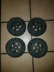 Hpi savage proline big joe tyres and wheels