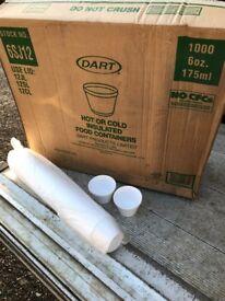 Polystyrene Portion Cups 6oz/175ml - Bulk buy and save!