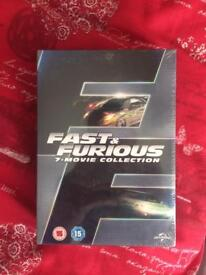 Fast and furious 7 movie collection