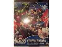 Avengers floor puzzle