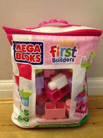 Mega Blocks First Builders bag set