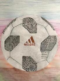 FIFA 18 Football poster handmade : Original Artwork