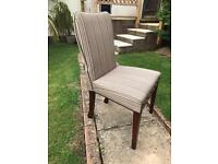 6 William McClean dining chairs.