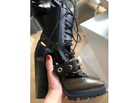 04ae8f66c7f Burberry high heeled boots