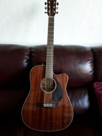 FENDER CD-60SCE ELECTRO ACCOUSTIC GUITAR