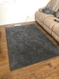 Ikea shaggy rug