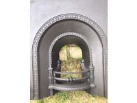 Original Cast Iron Fireplace insert