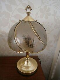 Brass Effect Lamp