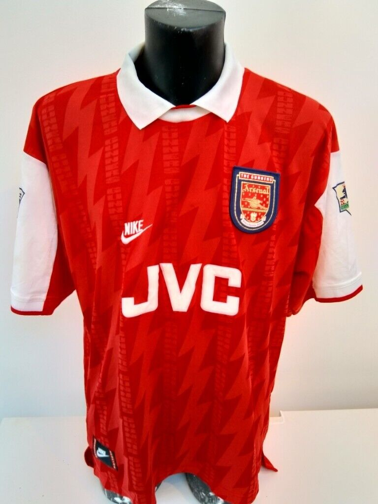 cheap for discount 9a357 a3f49 Signed Arsenal home shirt - Ian Wright Nike 1994/1995 XXL excellent  condition | in Enfield, London | Gumtree