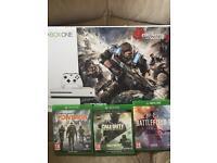 Xbox one s 1tb plus games