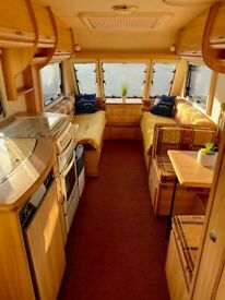 2001 Sterling Europa 4 Berth Caravan