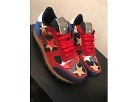 Valentino Mens Star Panel Sneakers UK 6