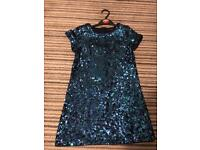 Sequin party dress aged 8-9yrs
