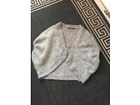Size 10 grey cardigan
