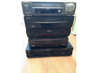 a lot of video players (6 piece) for parts