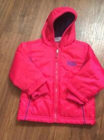 Lonsdale girls 12,18 month jacket NEW