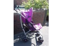 mamas and papas stroller with extra's
