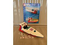 ICONIC Lego Model Team Sea Jet with ALL stickers and instructions 100% complete
