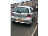Toyota Yaris 2002 for sale £800