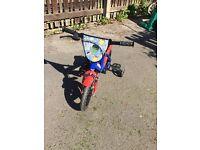 Kids 12 inch avengers bike