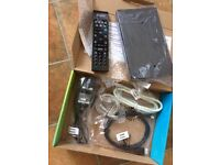 TalkTalk YouView FreeView Box with remote & cables