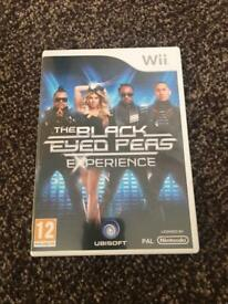 Nintendo Wii black eyed peas experience