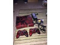 Xbox 360 limited edition gears of war console