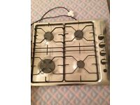 Electrolux stainless steel gas hob