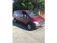2004 mercades Vito 111 cdi 2.2 xlwb 1 owner from new