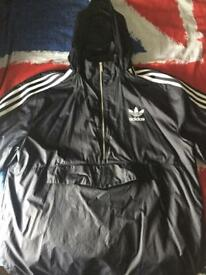 Navy Adidas Originals Cagoule