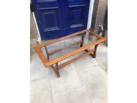 Retro wooden coffee table , great shape . Size - L 110cm D 49cm H 40cm