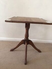 Solid Oak Square Table