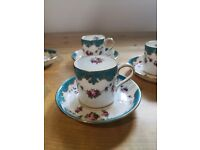 Lovely retro / vintage Wedgewood espresso coffee set. £15