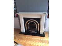 Flamerite electric fireplace - working and in good condition