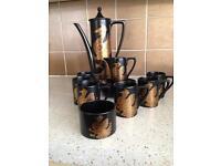 Vintage Portmeirion Phoenix Coffee set 6 cups