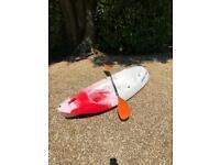 Yak Sport Sea Kayak Canoe For Sale - inc paddles
