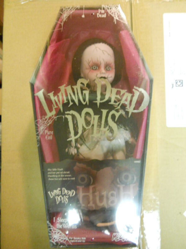 Living Dead Dolls series 6 HUSH doll/figure in Coffin MIB-Sealed