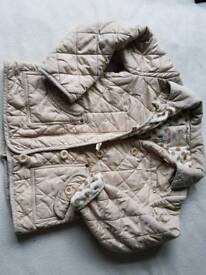 Next quilted Next jacket 9-10y